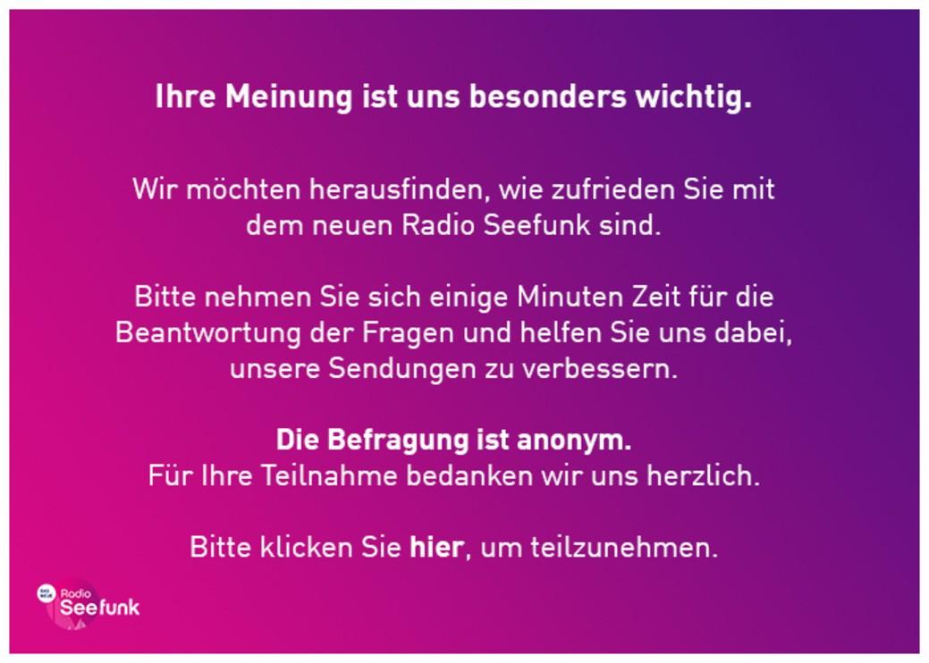 © Radio Seefunk