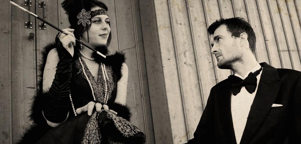 1920er männer der mode Was trägt